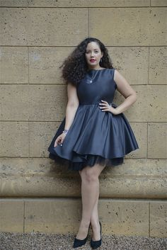 Dress: Girl With Curves | Accessories: PANDORA | Shoes: Enzo Angiolini, Nordstrom | Lips: MAC 'Rebel' | Nails: OPI 'Alpine Snow'…My last editorial for PAND