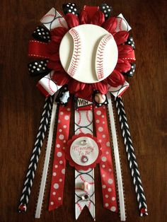 SALE NEW Baseball Themed Mommy To Be Corsage by AngelinaBellaFina