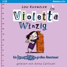 Das Däumling-Motiv neu interpretiert: Violetta schrumpft auf die Größe eines Fischstäbchens und muss auch noch im Altersheim Detektivin spielen!