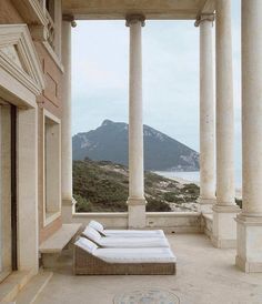 The great Neo-classic Palace, Villa Volpi, Rome by architect Tomaso Buzzi. Beautiful Architecture, Architecture Design, Classical Architecture, Boston House, Home Modern, Neoclassical, Scandinavian Design, Outdoor Living, Outdoor Spaces