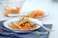 Salada de cenouras #salada #cenoura