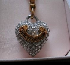 #JuicyCouture #Charm #heart