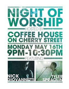 Simple Worship Night flyer