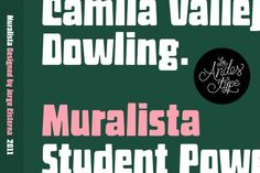 Muralista 30% Off by Los Andes Type on @creativemarket