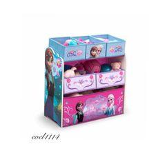 Disney Frozen Elsa Anna Toy Storage TV Movie Organizer Kids Room Play Kids