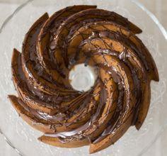 Bundt Cake de Avellanas, Chocolate y Almendras (I Love Bundt Cakes) - Chocolate Hazelnuts Bundt Cake