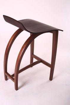 Bar Stool by Reed Hansuld Fine Furniture Craftsman