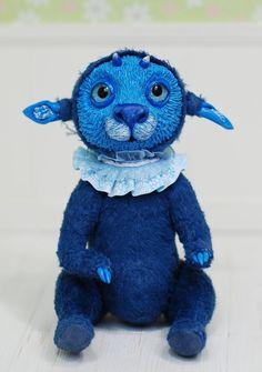 Piksel Creature Original Artist Doll Ooak Artist Teddy door iasio
