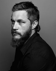 Travis Fimmel from The Vikings.. handsome devil, looks a little like Charlie hunnam