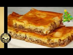 Delicious meat pie with bacon and béchamel ! - GOLDEN RECIPES - YouTube