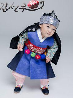 한복 Hanbok : Korean traditional clothes[dress]  | #BabyHanbok