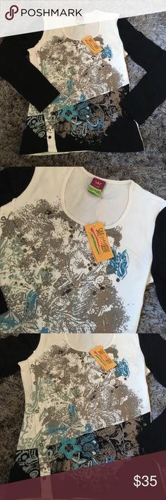 Nwt save the queen long sleeve t Size large brand new Save The Queen Tops Tees - Long Sleeve