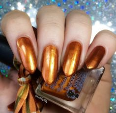 Pumpkin Spiced Latte | A Pretty Fierce Indie Nail Polish by Sleeping Medusa #Nail #Nails
