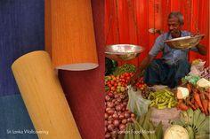 Sri Lanka Wallcovering   Sri Lankan Food Market #InnovationsInspirations