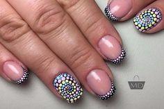 точечная роспись ногти - Поиск в Google