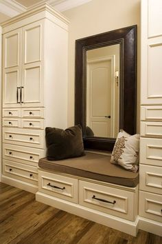 The best of luxury closet design in a selection curated by Boca do Lobo to inspire interior designers looking to finish their projects. Discover unique walk-in closet setups by the best furniture makers out there #luxurywalkincloset