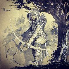 Aramil by Jim Lee *