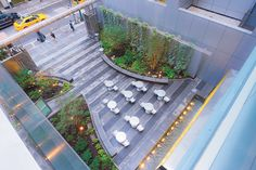 Week The use of micro parks in a sense urban setting increases walkability and sense of ownership when the micro park is integrated and accessible. Landscape Plaza, Urban Landscape, Landscape Architecture, Landscape Design, Poket Park, Expo Milan, Saint Claude, Pocket Garden, New Urbanism