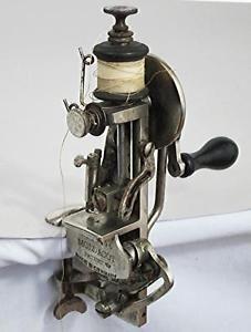 ANTIQUE-MODACOT-PATENT-SEWING-MACHINE-GERMAN-1886-vintage