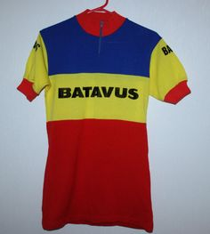Rare Cycling jersey Batavus Kendaroy Made in Belgium Holland in Sports…