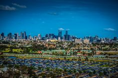 View from the Ferris Wheel at the Melbourne Show 2013