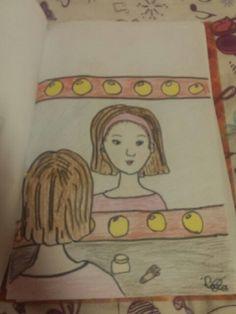 Like als je he mooi vind ik heb het zelf getekend youtube: Lara wereld Rafik