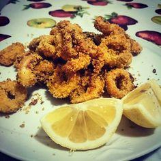 Calamari Croccantini al forno