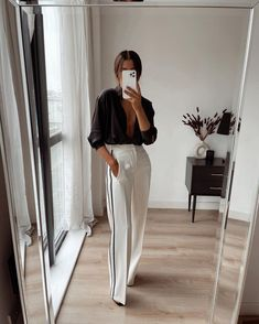 Classy Outfits, Trendy Outfits, Cute Outfits, Fashion Outfits, Spring Summer Fashion, Spring Outfits, Looks Pinterest, Mode Ootd, Elegant Outfit