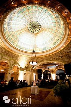 Best Chicago Wedding Venue pictures by Chicago Wedding Photographer Allori Photography. Chicago Cultural Center