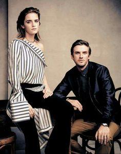 Buongiorno ❤  ❤NEW PHOTO❤  › ❀ n e w • • photoshoot; Emma e Dan Stevens fotografati da Art Streiber ✨  Crediti : She's Emma Watson   ~EmWatson