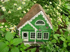 HOME SWEET HOME  Beautifully painted rock of by MyGardenRocks