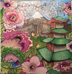#themagicalcitycolouringbook #lizziemarycullen