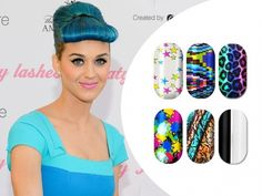 Katy Perry's manicurist Kimmie Kyees designs for Minx Nails
