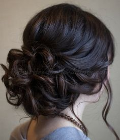 chignon+wedding+hairstyles,+low+bun+wedding+hairstyles+-+wedding+updo