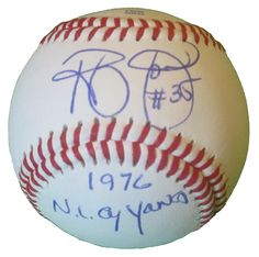 NY Mets Randy Jones signed Rawlings ROLB leather baseball w/ proof photo.  Proof photo of Randy signing will be included with your purchase along with a COA issued from Southwestconnection-Memorabilia, guaranteeing the item to pass authentication services from PSA/DNA or JSA. Free USPS shipping. www.AutographedwithProof.com is your one stop for autographed collectibles from New York sports teams. Check back with us often, as we are always obtaining new items.