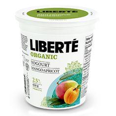 Organic Mango and Apricot Yogurt