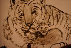 Sand Drawing, Sand Art, Drawings, Animals, Animales, Animaux, Sketch, Portrait, Drawing