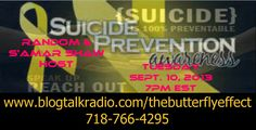 suicide awareness day around the world.