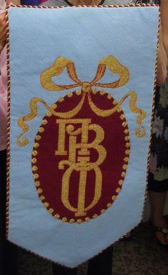 Pi Phi flag #piphi #pibetaphi