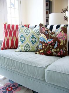 #pillows #pattern #ikat