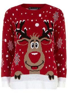 Rudolph Christmas Sweater