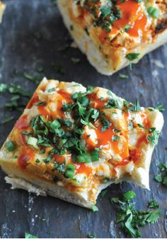 This 30-Minute Buffalo Chicken French Bread recipe is easy enough to whip up for a quick lunch.