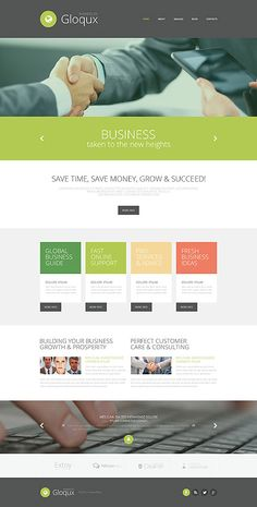 Gloqux Business Company #website #template. #themes #business #responsive
