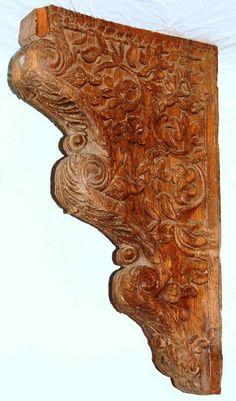 Berbere World Imports - 955-008---Indian Brown Wood Bracket 7, $350.00 (http://www.berbereworldimports.com/products/955-008-indian-brown-wood-bracket-7.html/)