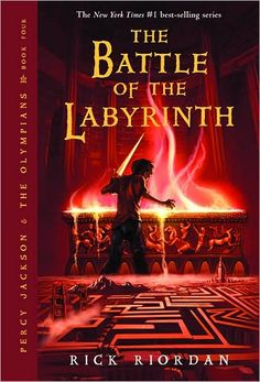 the battle of the labyrinth is the third book in the Percy Jackson series where Percy and Annabeth find a maze and they and groves and Tyson go looking for Daedalus so he does not help Kronos navigate the maze and find camp