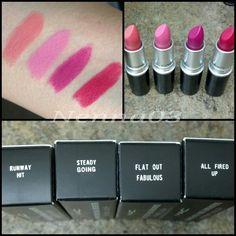 Retro matte collection by Mac cosmetics