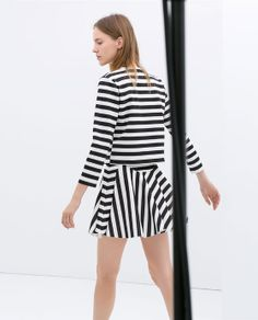 Image 3 of STRIPED SKIRT from Zara