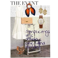 """""""Simplicity; it's always chic and elegant."""" by cbslifestylist on Polyvore"""