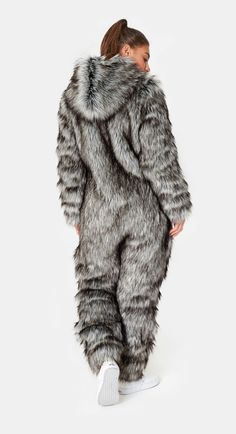 Onepiece Winter is Coming So What Jumpsuit Grau meliert Winter Outfits, Summer Outfits, Cute Outfits, Winter Is Coming Meme, Fur Fashion, Winter Fashion, Winter Fur Coats, Fabulous Furs, Fox Fur Coat