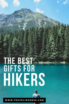 Need to get a gift for that hiker in your life? Finding the perfect gift can be challenging so I've put together plenty of hiking essentials and the best gifts for hikers that they will both use and love. Explore countless gift ideas for hikers and adventurers in this gift guide! #hiking #hikinggifts #giftguide #giftsforhikers